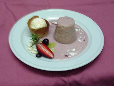 Pudding - Served like this in the old days