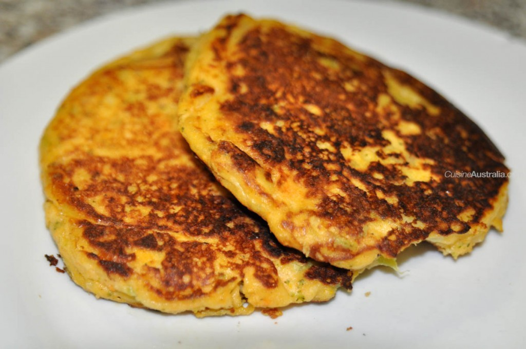 Leftover Potato Pancakes