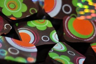 Quince Paste Chocolate Squares