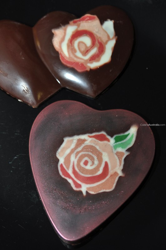 Melted Piped Rose