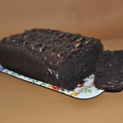 Date & Ginger Chocolate Mud Cake