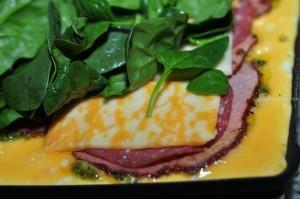 Sandwich Press Omelette