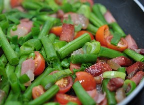 Green Beans & Bacon
