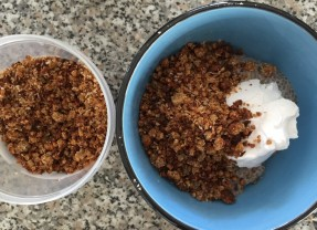 Sprouted Grain Coconut Crumble