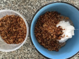 Sprouted Grain & Coconut Crumble