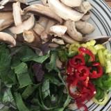 Mushroom & Spinach Breakfast Fry