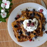 Apple and Date French Toast