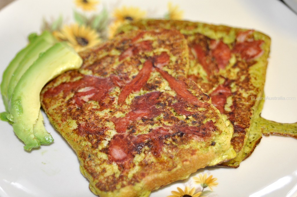 Pesto French Toast